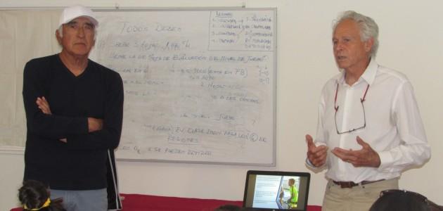 Históricos Cornejo y Fillol encabezaron charla para padres y entrenadores en la Federación de Tenis de Chile