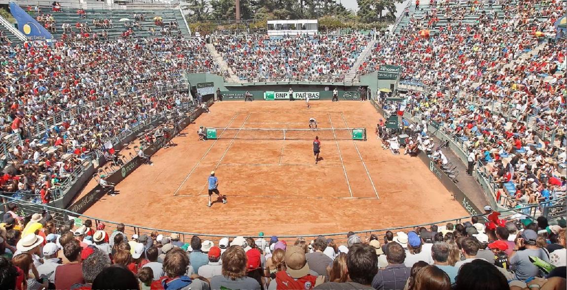 El Court Central será la sede para el duelo entre Chile y Ecuador por la Copa Davis