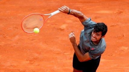 Cristian Garin pisa firme en el Master 1000 de Roma