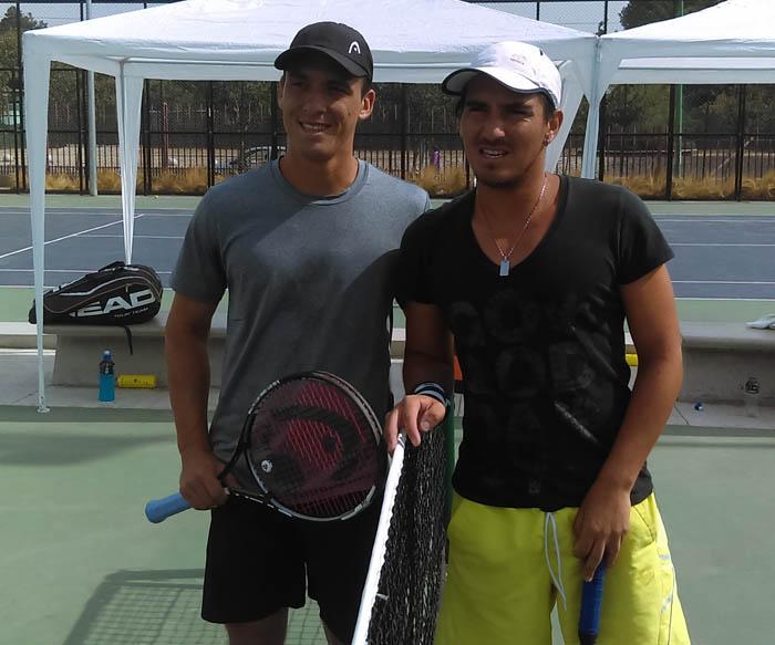 Saavedra y Urzúa jugarán final de 25.000 dólares