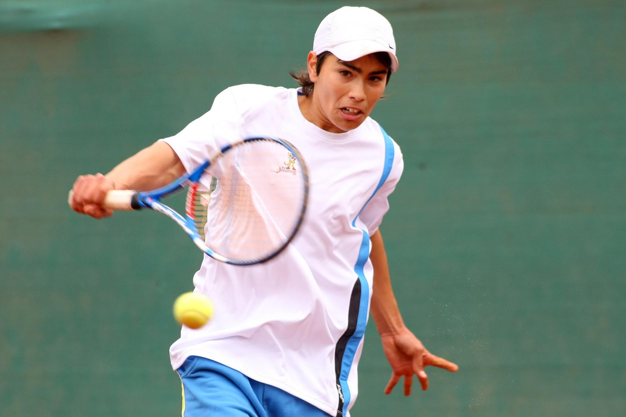 Cristopher Kohl abriéndose un espacio en el tenis profesional