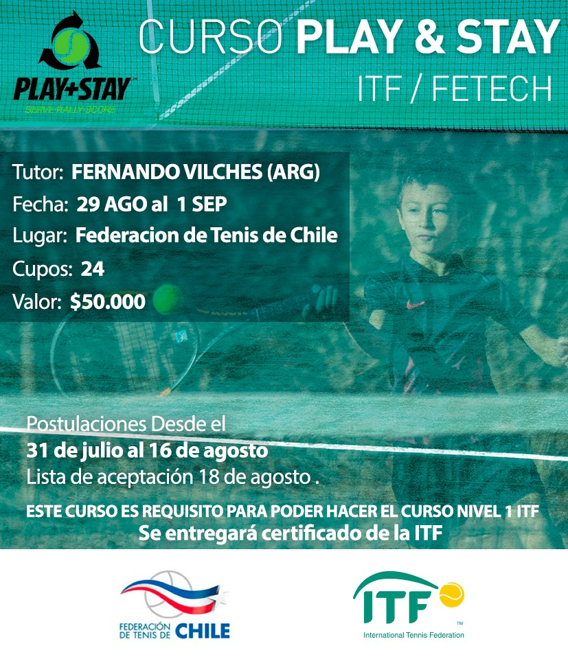 Curso Play and stay