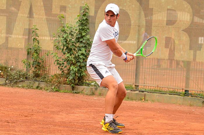 Daniel Ortiz ganó su primer punto ATP