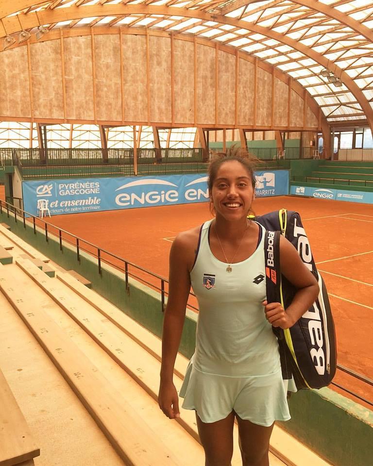Daniela Seguel se instaló en el cuadro principal singles del Bella Cup