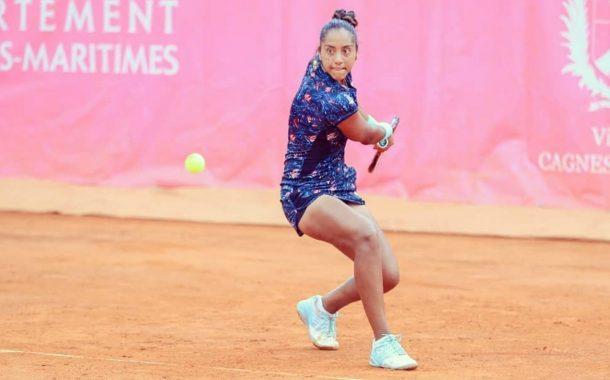 Volvió el tenis, Daniela Seguel fue la primera en competir