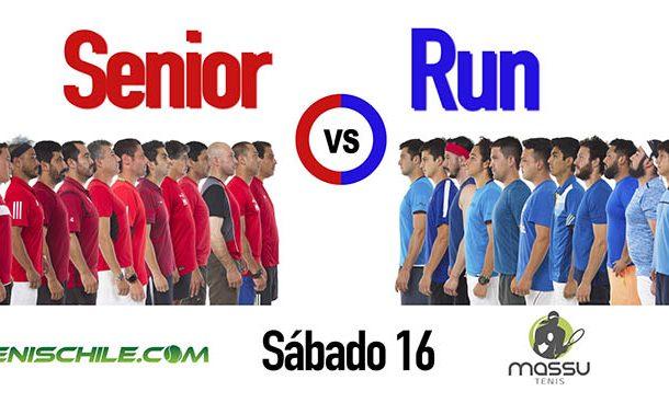 Así se jugarán los partidos del 3er desafío Motorola Senior vs RUN