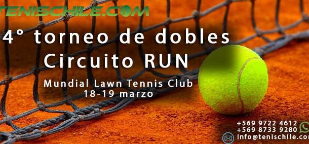 4° torneo de dobles en el Club Mundial