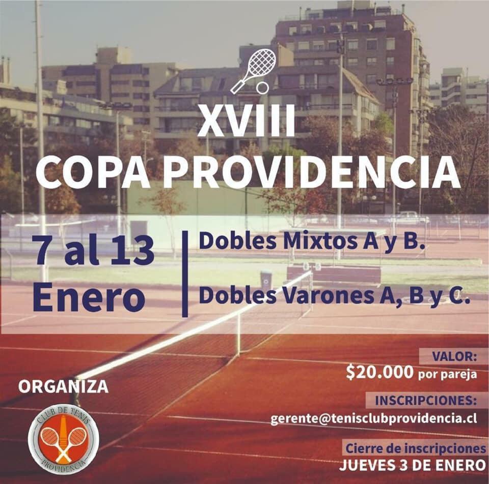 Llegó el mítico torneo de dobles del Club Providencia