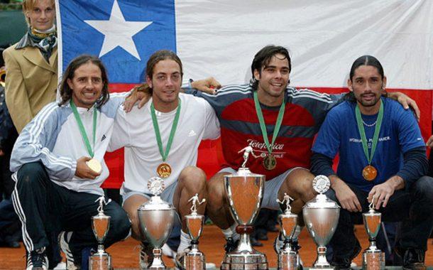 4 títulos mundiales de Tenis para Chile en 7 finales disputadas por equipos - 2003: Chile campeón del mundo en Düsseldorf, Alemania