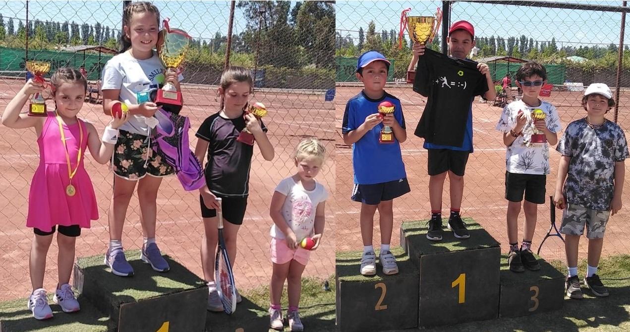 Sergio Aguilar y Florencia Ceardi fueron campeones en Cancha Roja