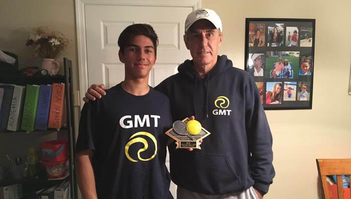 Enzo Fuentealba campeón en Junior USTA Tournament