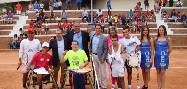 Con campeón en Sillas de Ruedas partió Copa Estadio Español 2016