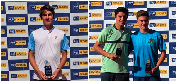 Compatriotas triunfaron en el Tunari Junior Open 2019