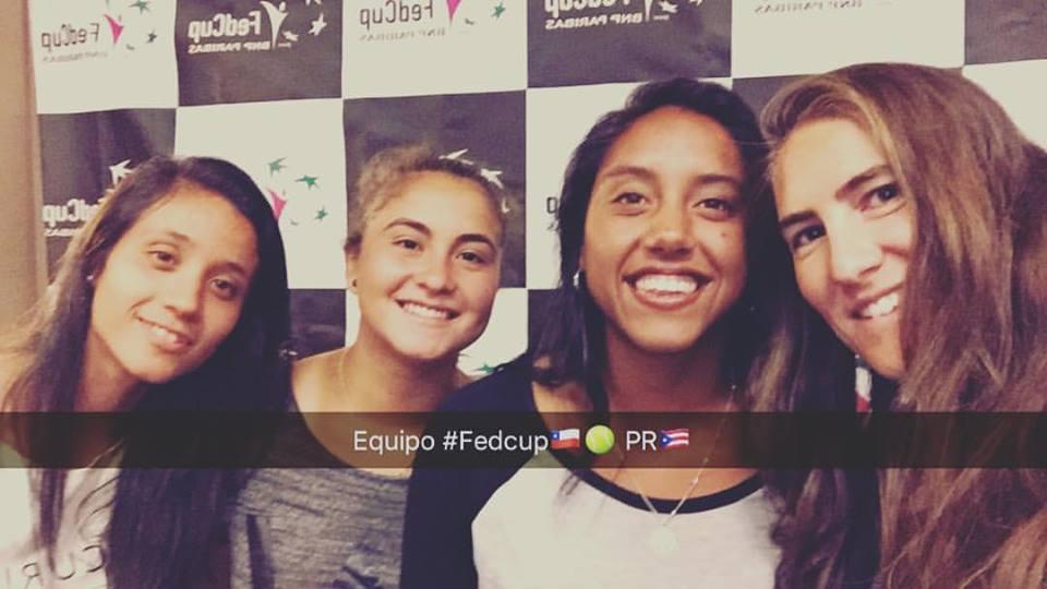 Chile juega en el Grupo A de la Fed Cup