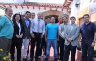 Presidente de la Federación de Tenis de Chile se reúne con directiva del Club de Tenis La Serena