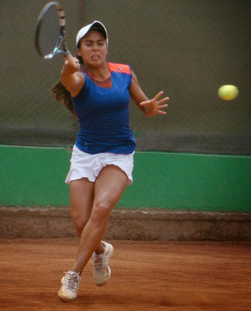 Astete va por sus primeros puntos del ranking WTA