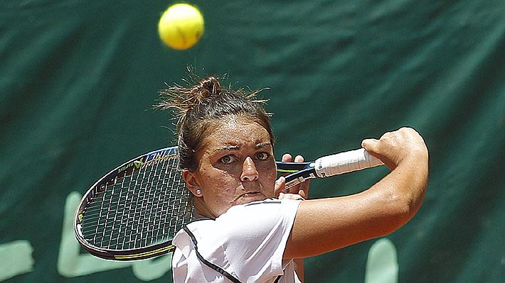 Fernanda Brito alcanzó la final de la Copa Las Condes