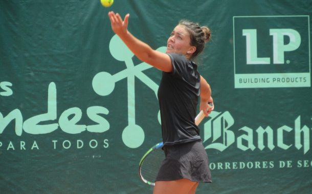 Fernanda Brito aplastó a su rival de primera ronda en el W15 de Bucaramanga