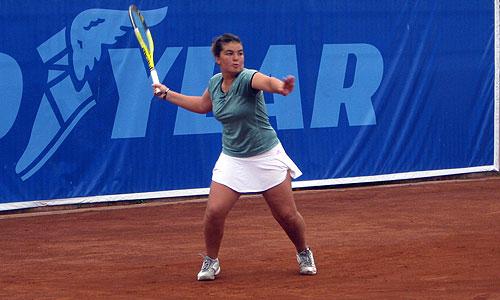 Fernanda Brito cayó en semifinales de dobles junto a Luini en Santa Margherita Di Pula