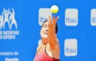Saque y mucha potencia: Brito ganó con claridad y avanzó a 'semis' en ITF de Buenos Aires