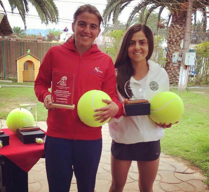 Labraña flamante campeona del ITF Chirimoya Bowl