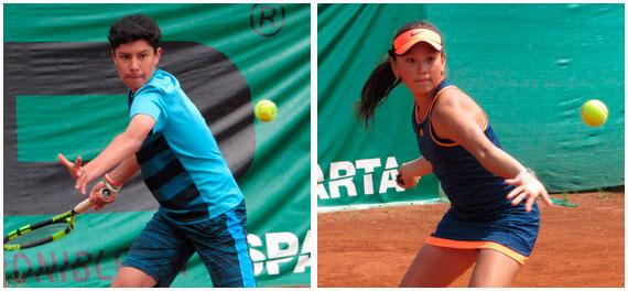 Fernández y Cáceres se mantienen en carrera en singles en Argentina