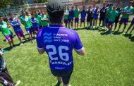 Fernando González visitó al plantel de San Antonio Unido