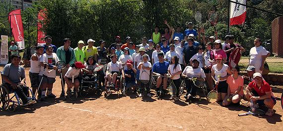 La primera Fiesta del Tenis Inclusivo fue todo un éxito