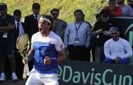 Espectacular: Chile venció a Colombia y se metió en el repechaje de la Davis tras 4 años