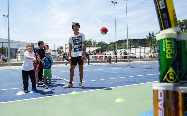 Futuros Para el Tenis y un modelo único: Deporte y Educación
