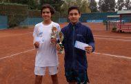 El segundo torneo en Chiletenis vio festejar a los favoritos