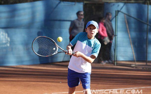 Carrasco cerró un intimidante año en Tenis 12