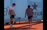 Adiós Roma, Garin también perdió en dobles