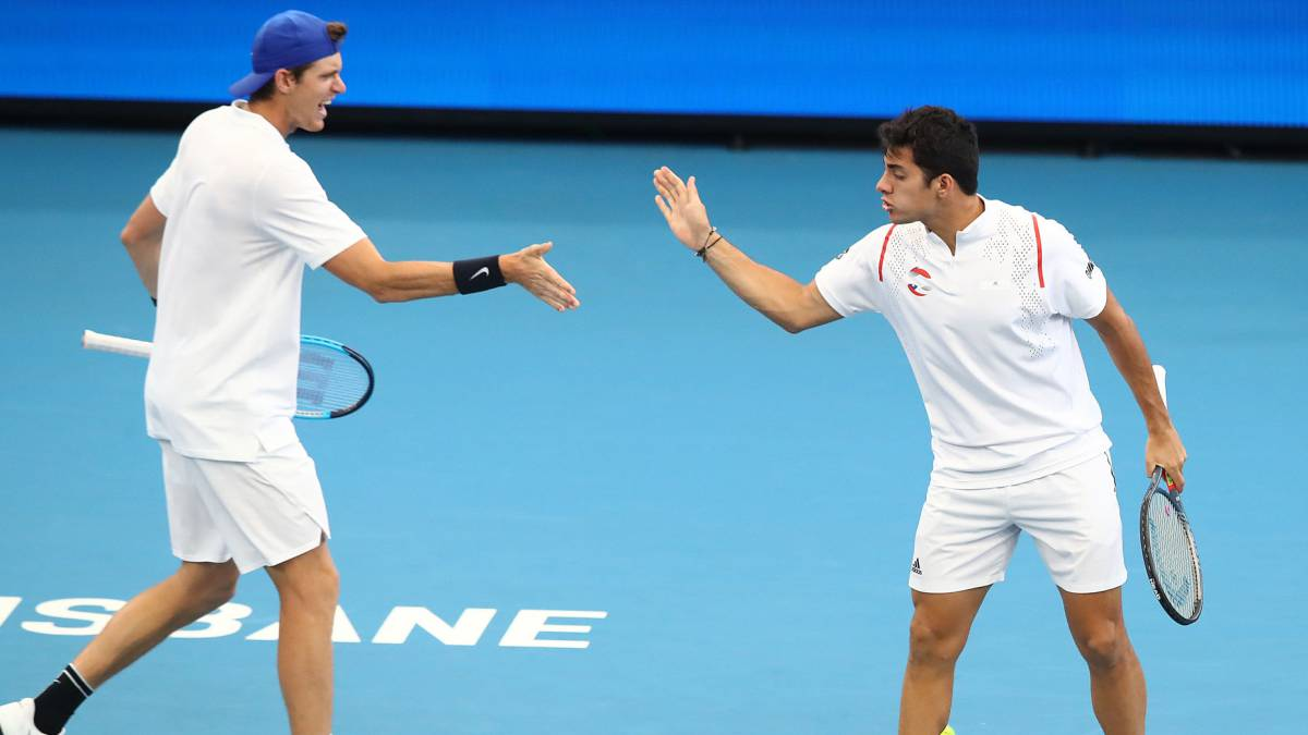 Garin y Jarry entraron al cuadro principal del ATP 500 de Río de Janeiro