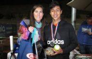 Hanamichi Carvajal; de la Tierra de Campeones a lo más alto del tenis chileno