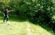 Hans Podlipnik explica porque ahora juega golf con los pies
