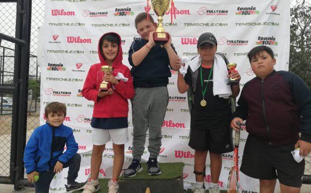 Fundación Futuros para el Tenis recibió etapa 11 del Tenis 10-12-14