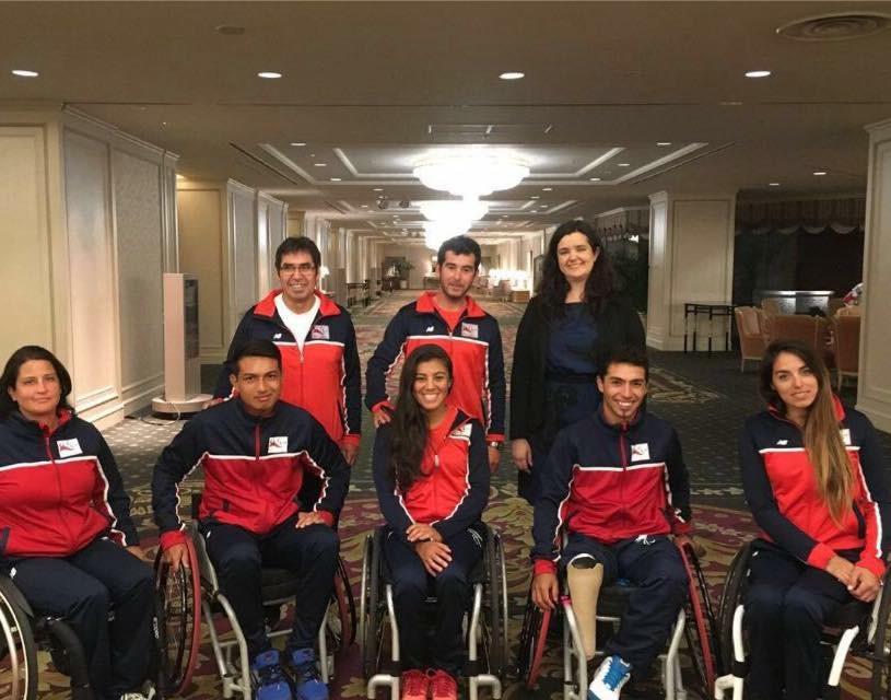 Auspicioso debut de Chile en mundial de Silla de Ruedas