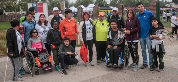 Federación de Tenis de Chile estuvo presente en actividad inclusiva de Paine