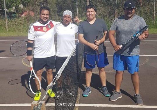 Tenis en Rapanui, una auténtica realidad