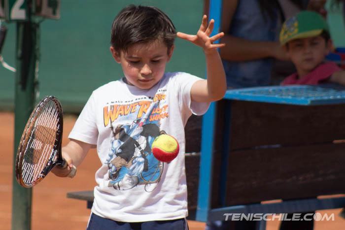 Todo un éxito resultó la quinta etapa de Tenis 10
