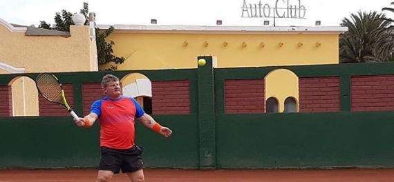 El Autoclub de Antofagasta vibra con el paso del circuito ITF Seniors