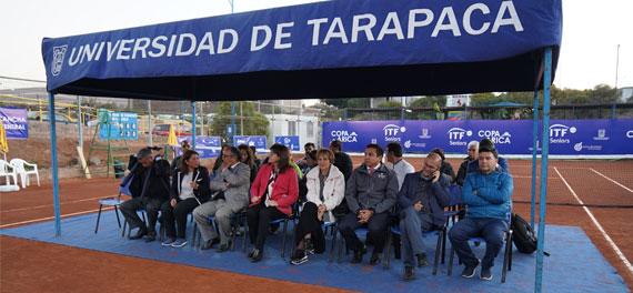 Con múltiples actividades se llevó a cabo el Internacional Senior Copa Arica