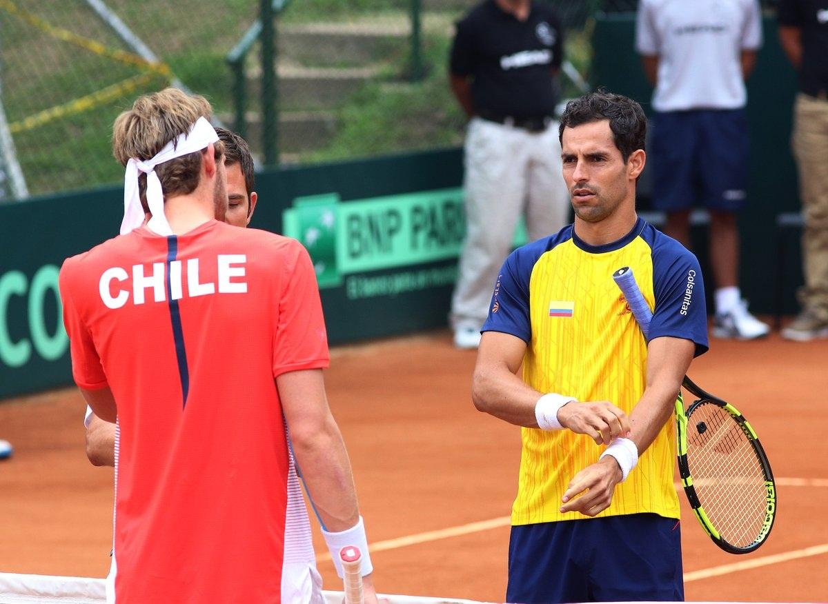 Chile comienza con una derrota en Copa Davis