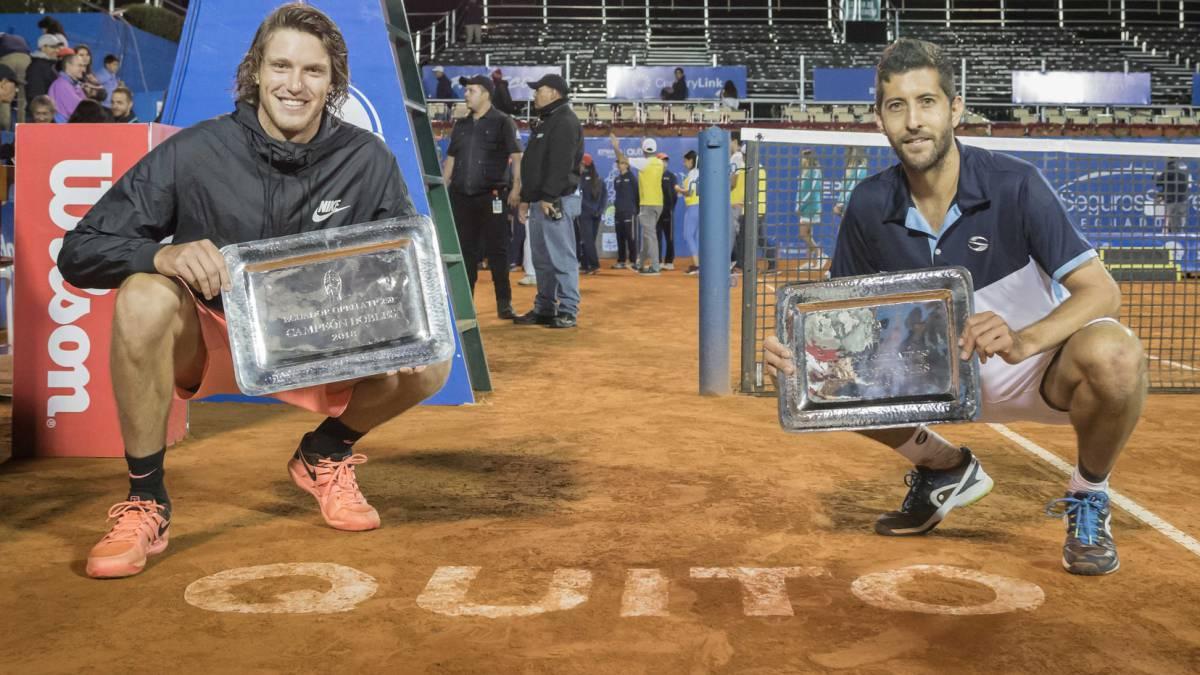 Jarry y Podlipnik se coronan campeones del ATP en Quito