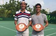 Montero gana torneo de dobles en Colombia