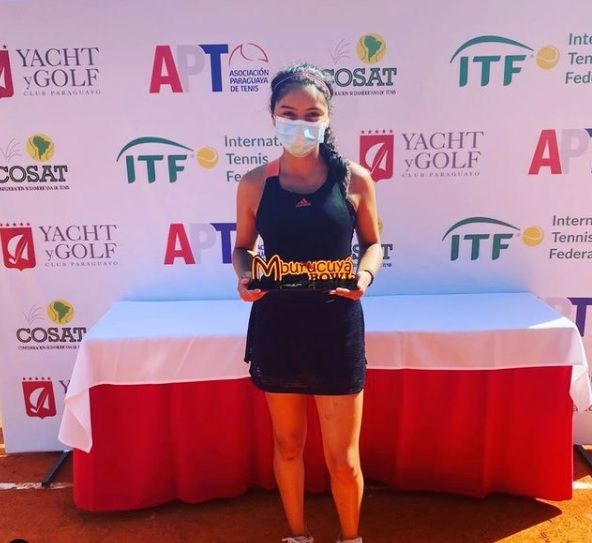 Fuenzalida es campeona en torneo Cosat de Paraguay y será top ten desde el Lunes