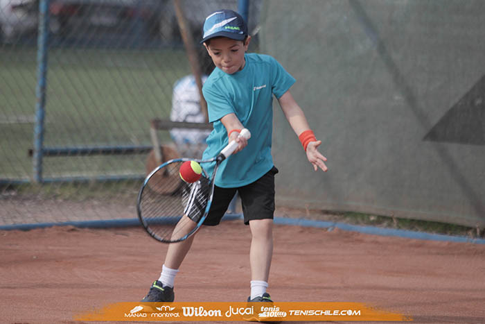 Antona, Peralta, Silva, Fabres y Cibié fueron los campeones del Tenis 10