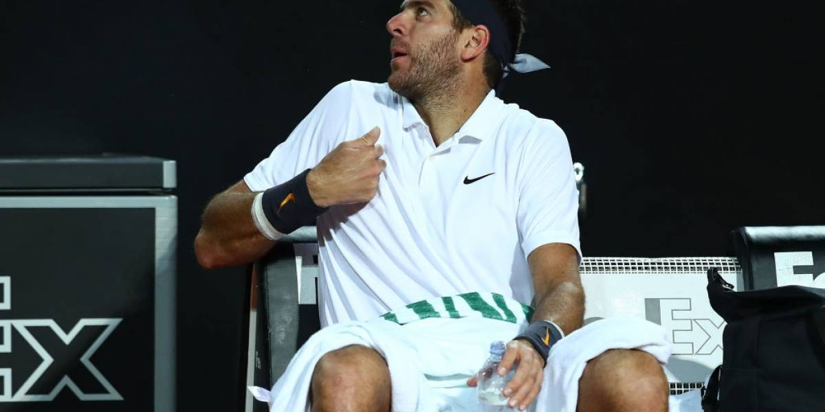 Lesiones, pocos partidos y derrotas ante jugadores de menor ranking: el duro año de Del Potro, el rival de Jarry en Roland Garros