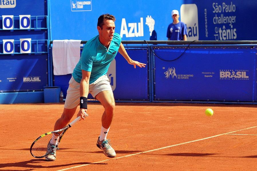 Juan Carlos Sáez también se despidió del Challenger de Santiago